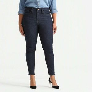 J. Crew Womens Slim Skinny Jeans Blue Ankle  32